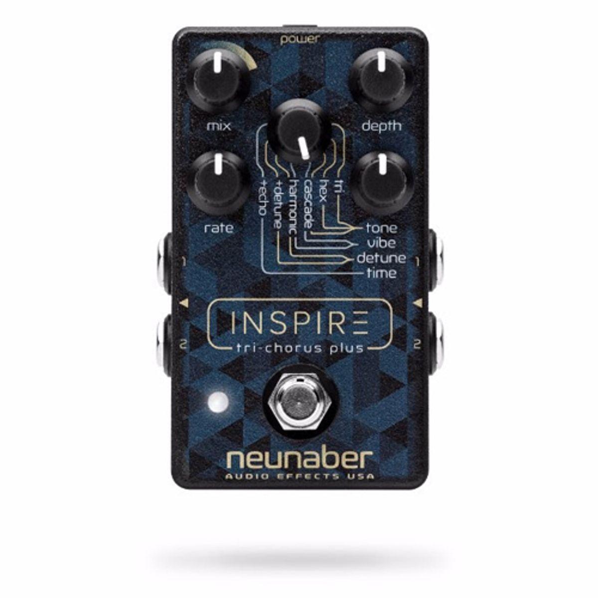Neunaber Audio Effects Releases the Inspire Tri-Chorus Plus