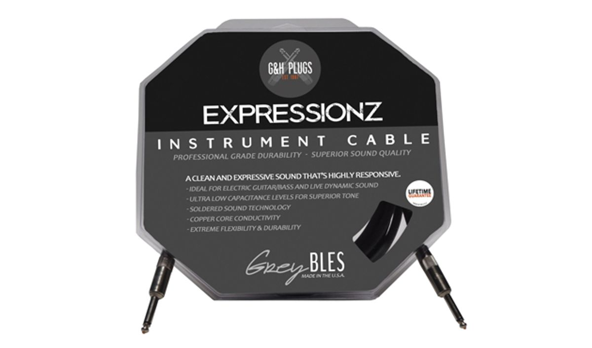 G&H Plugs Introduces GreyBLES: Exppresionz Cables
