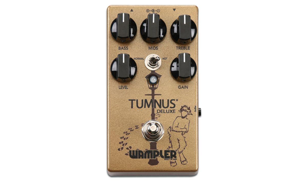 Wampler Pedals Announces the Tumnus Deluxe