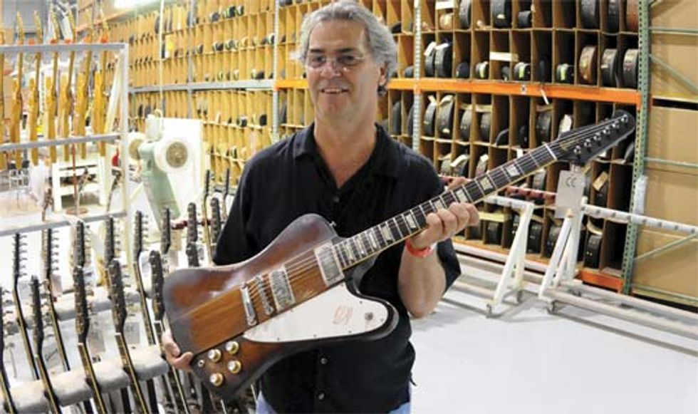 Gibson''s Johnny Winter 1963 Firebird V