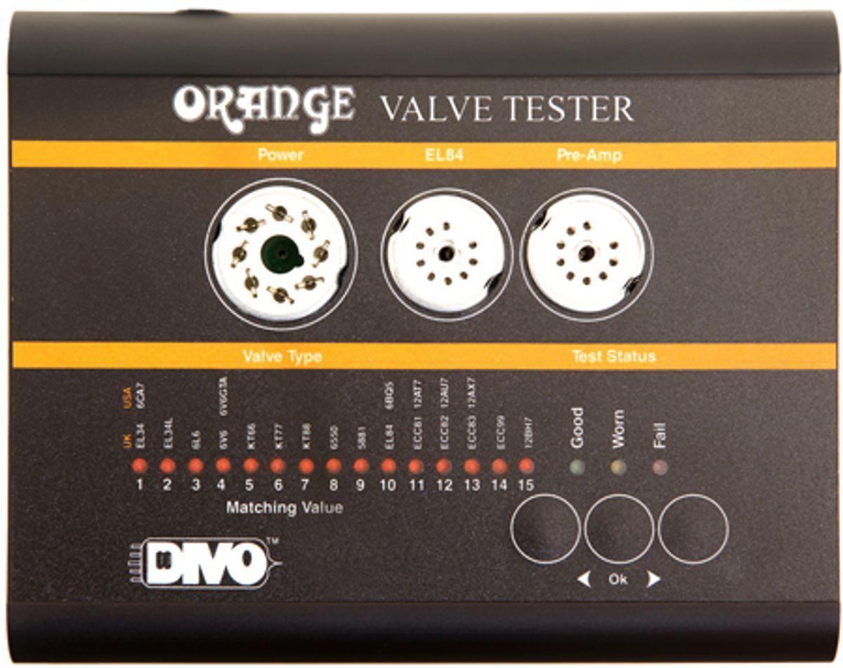 Orange Amplification Launches Valve Tester VT1000