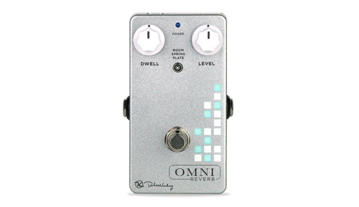 Keeley Electronics Drops the Omni Reverb