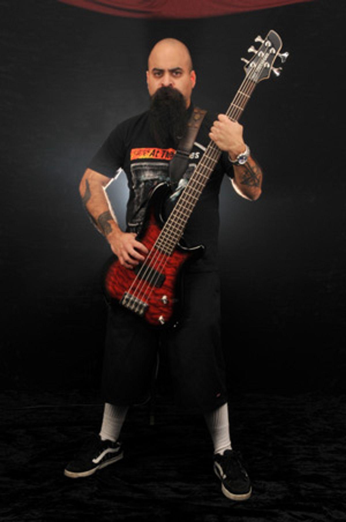 Fernandes Announces Tony Campos Signature Tremor 5 Bass