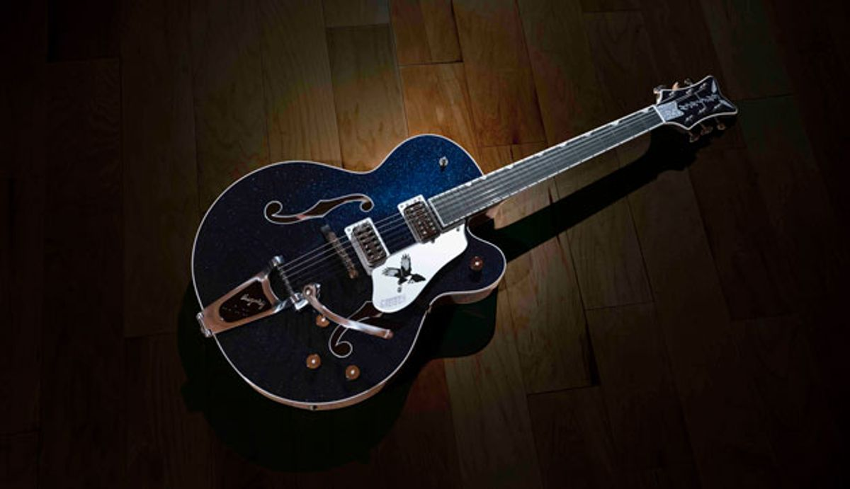 Gretsch Debuts the G6136T Rich Robinson Signature Magpie with Bigsby