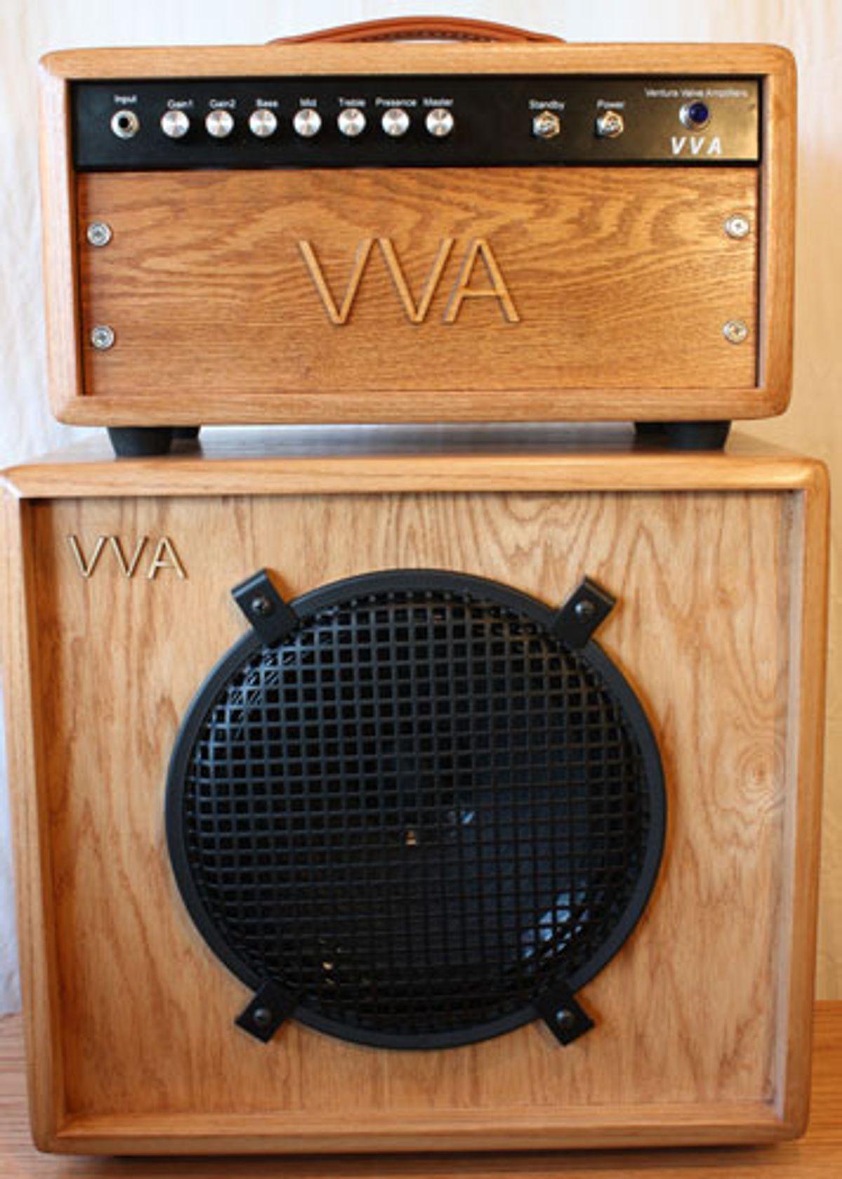 Ventura Valve Amplifiers Announces the VVA50 Head and VVA Speaker Cabinets