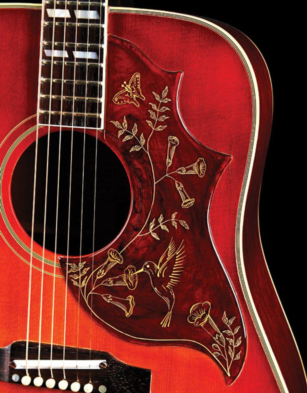 vintage vault 1961 gibson hummingbird premier guitar. Black Bedroom Furniture Sets. Home Design Ideas