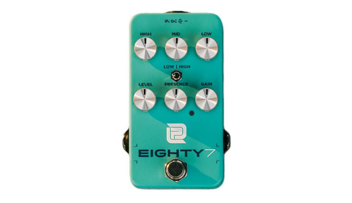 LPD Pedals Unveils the Redesigned Eighty7