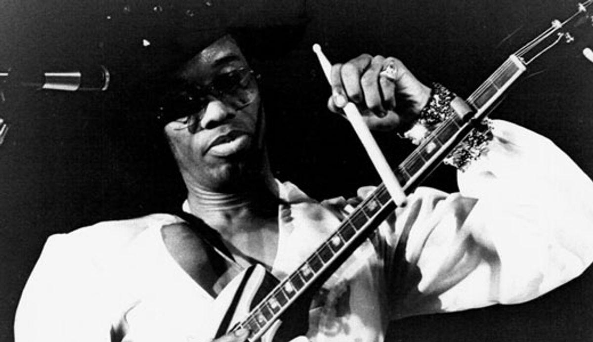 "Johnny ""Guitar"" Watson's Stinging Blues"