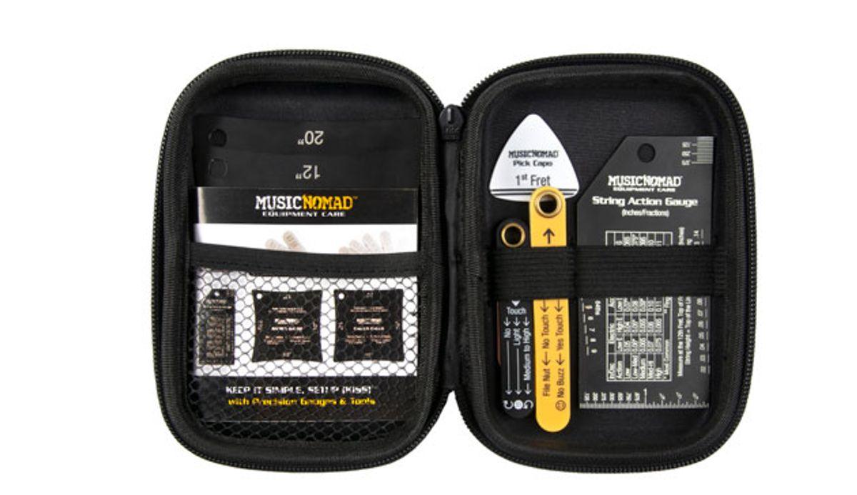 MusicNomad Releases 6-Piece Precision Setup Gauge Set