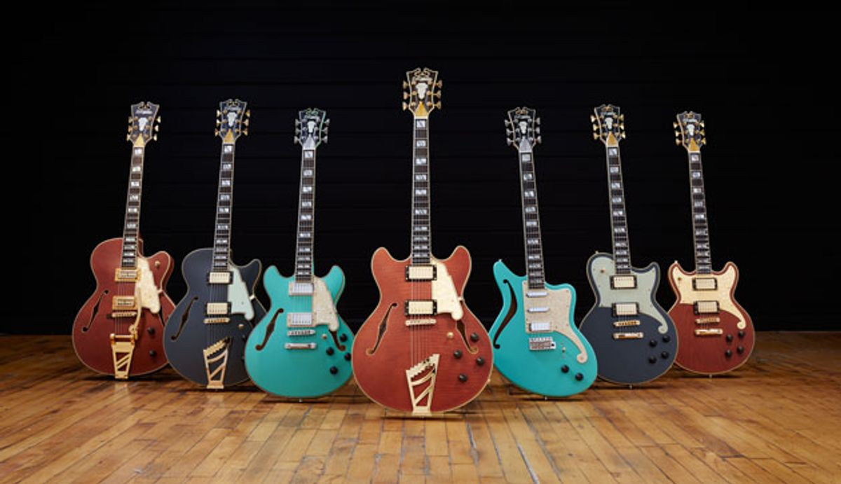 D'Angelico Guitars Unveils Limited-Edition Deluxe Series