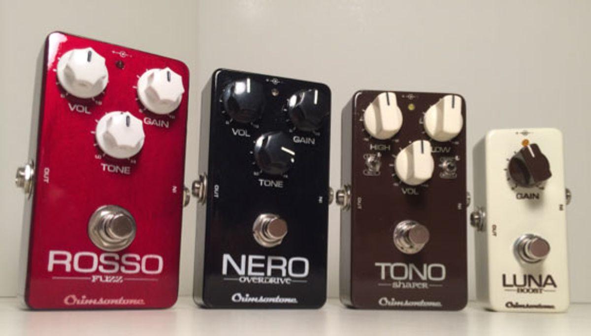 Crimsontone Releases New Line of Pedals