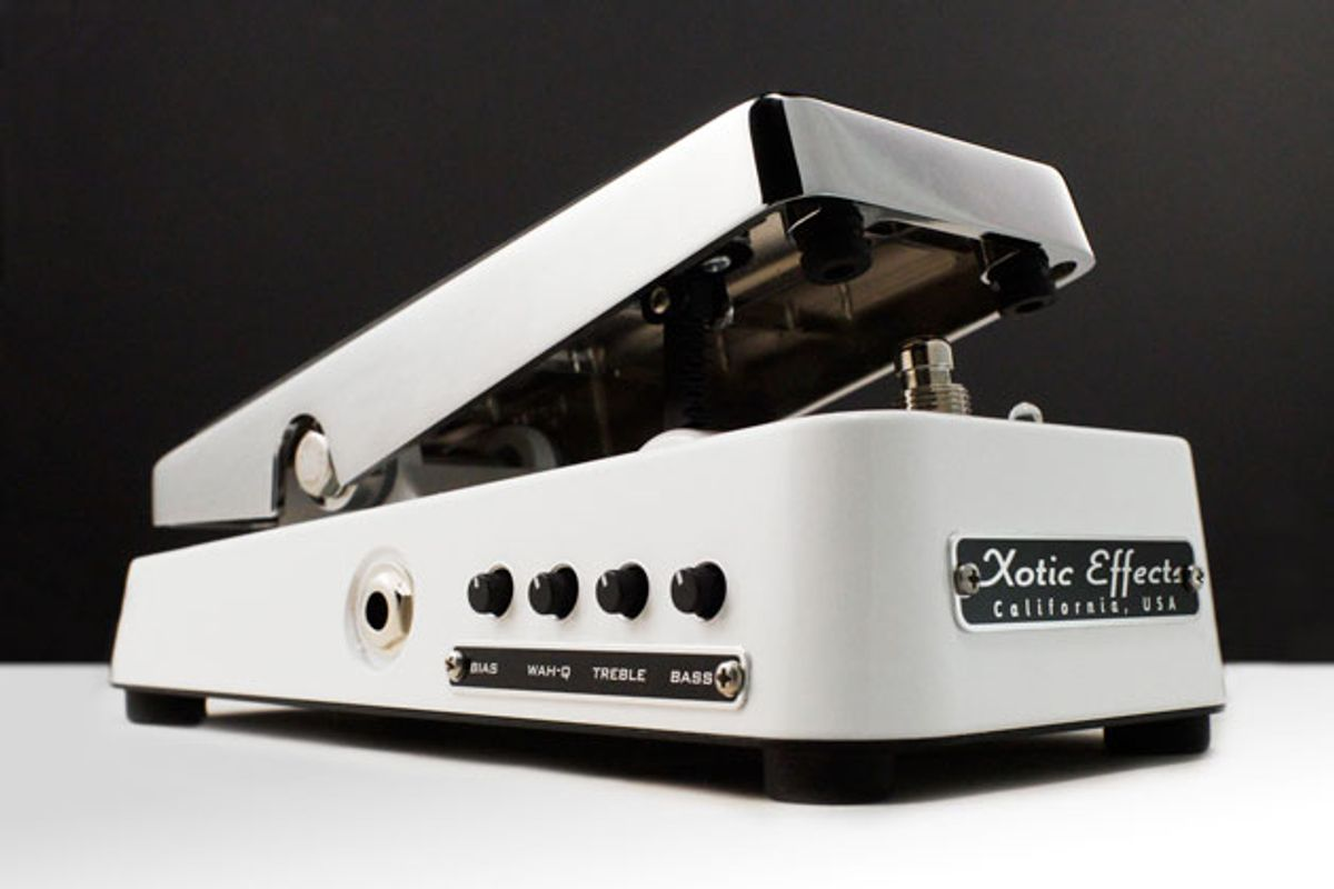 Xotic Announces the XW-1 Wah