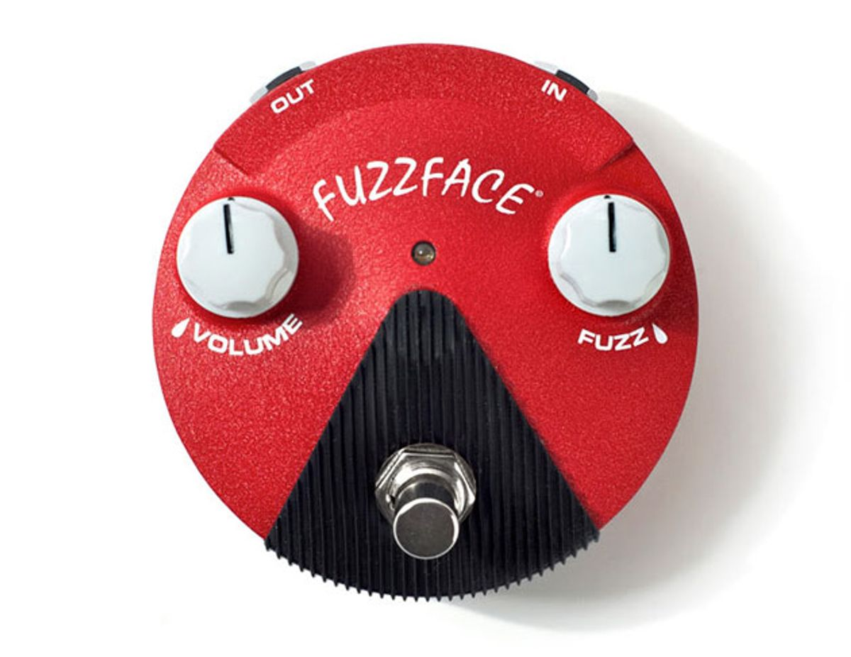 Dunlop Unveils the Band of Gypsys Fuzz Face Mini