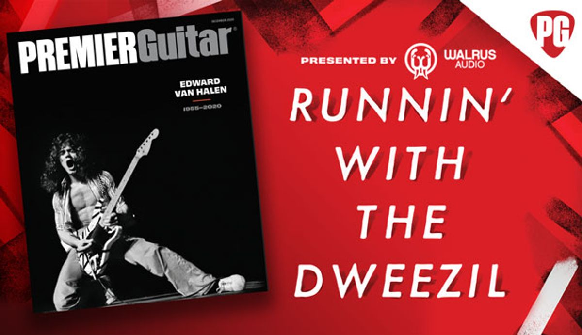 Presenting Runnin' with the Dweezil, the Most In-Depth Van Halen Podcast Ever