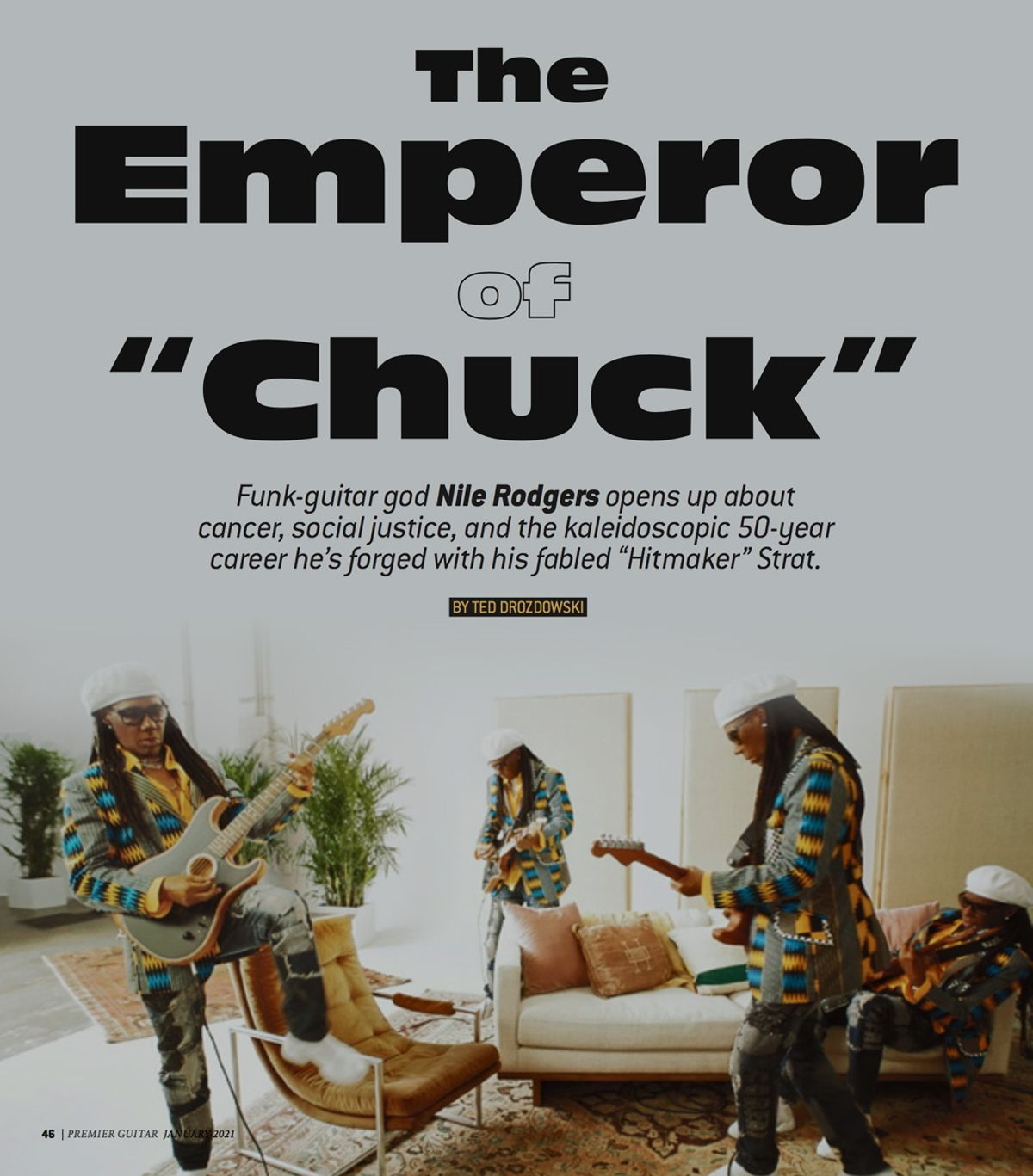 "Nile Rodgers—The Emperor of ""Chuck"""