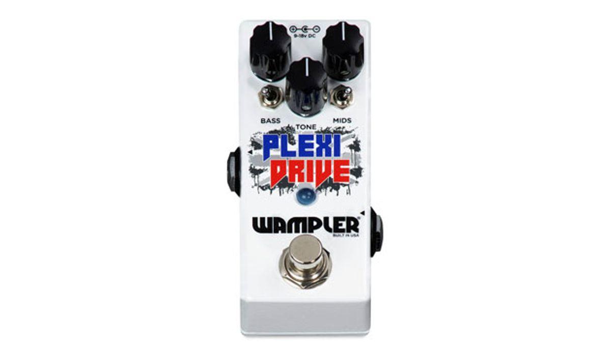 Wampler Introduces the Plexi-Drive Mini