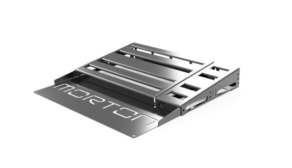 Morton Pedalboards Introduces Customizable Pedalboard System