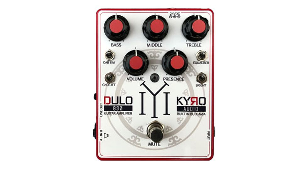 Kyro Audio Introduces the Dulo Pedalboard Amp