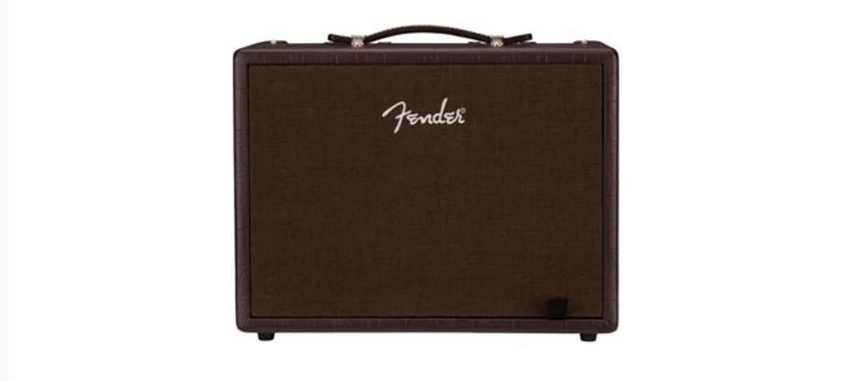 Fender Releases New Line of Acoustic Amps