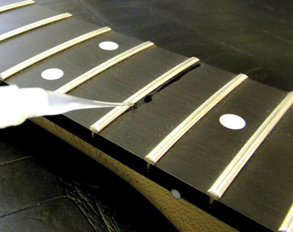 Guitar Shop 101: Using Super Glue in Guitar Repair | Premier