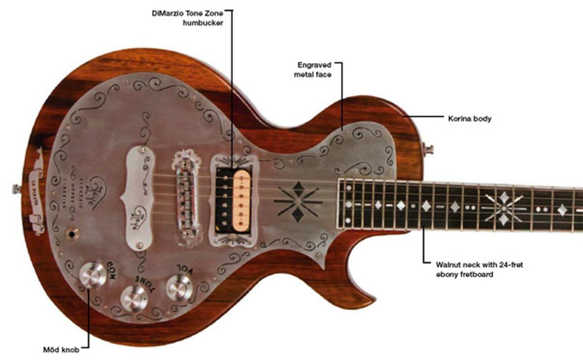 Teye Guitars La Pirata Custom Plus Electric Guitar Review