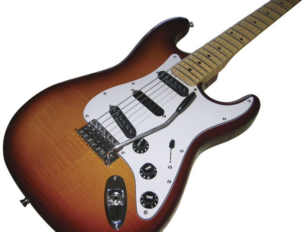 Reader Guitar of the Month: Scalloped Wonder