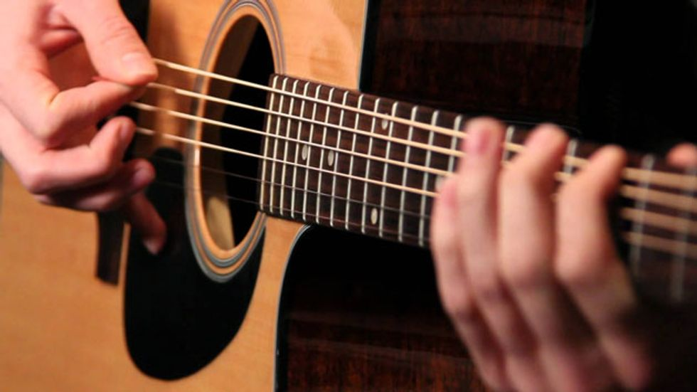 Basic Bluegrass Rhythm Guitar