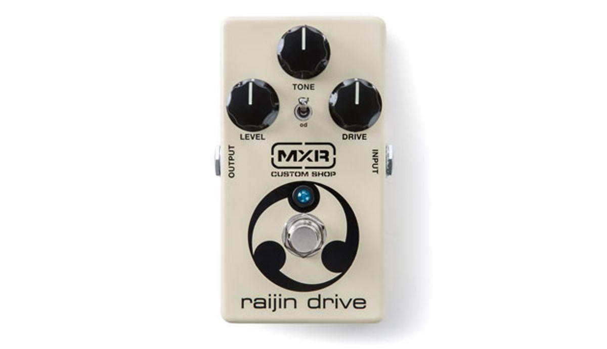 MXR Releases the Raijin Drive