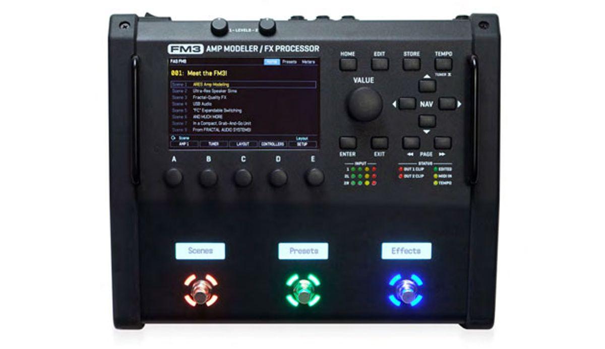 Fractal Audio Systems Announces the FM3