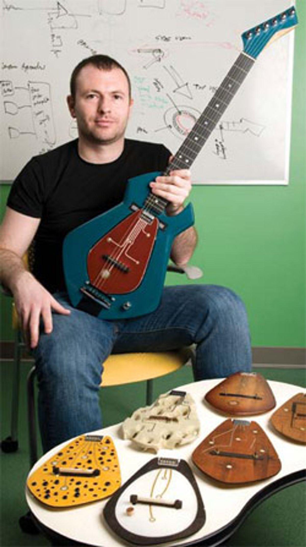 Chameleon Guitar: Guitar of the Future?