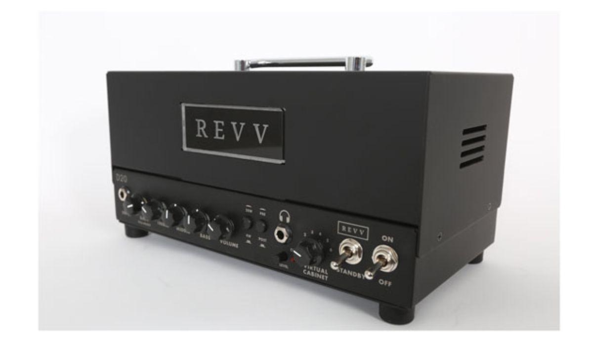 Revv Amps Unveils the D20