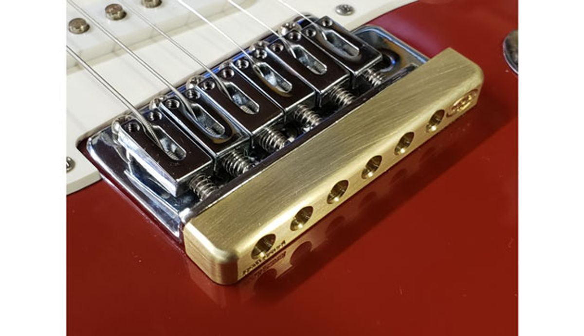 Killer Guitar Components Introduces the Fat Bottom Bridge