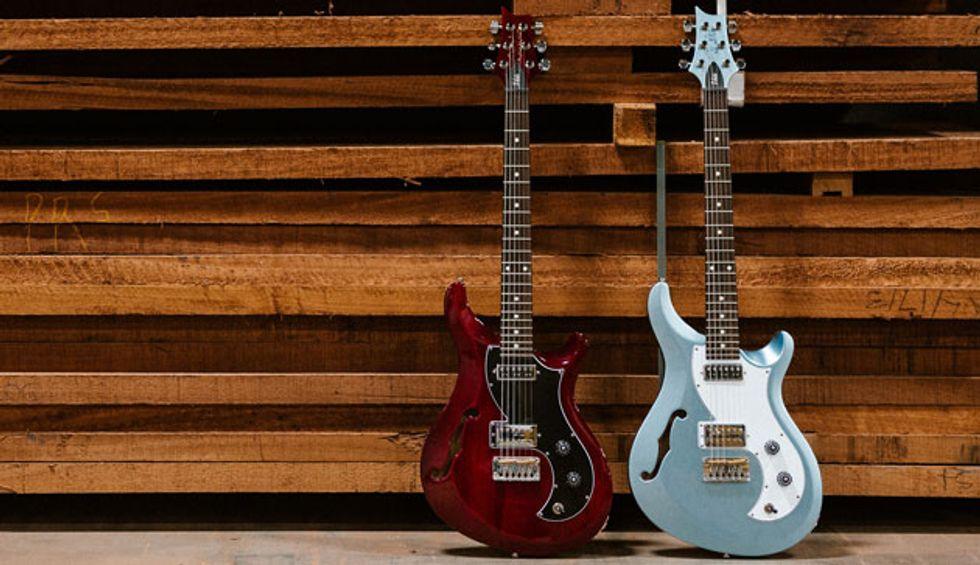 PRS Announces the New S2 Vela Semi-Hollow Guitar