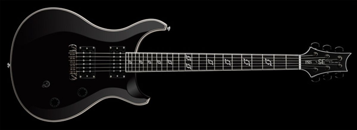 Announcing the PRS SE Clint Lowery Signature Model Electric Guitar