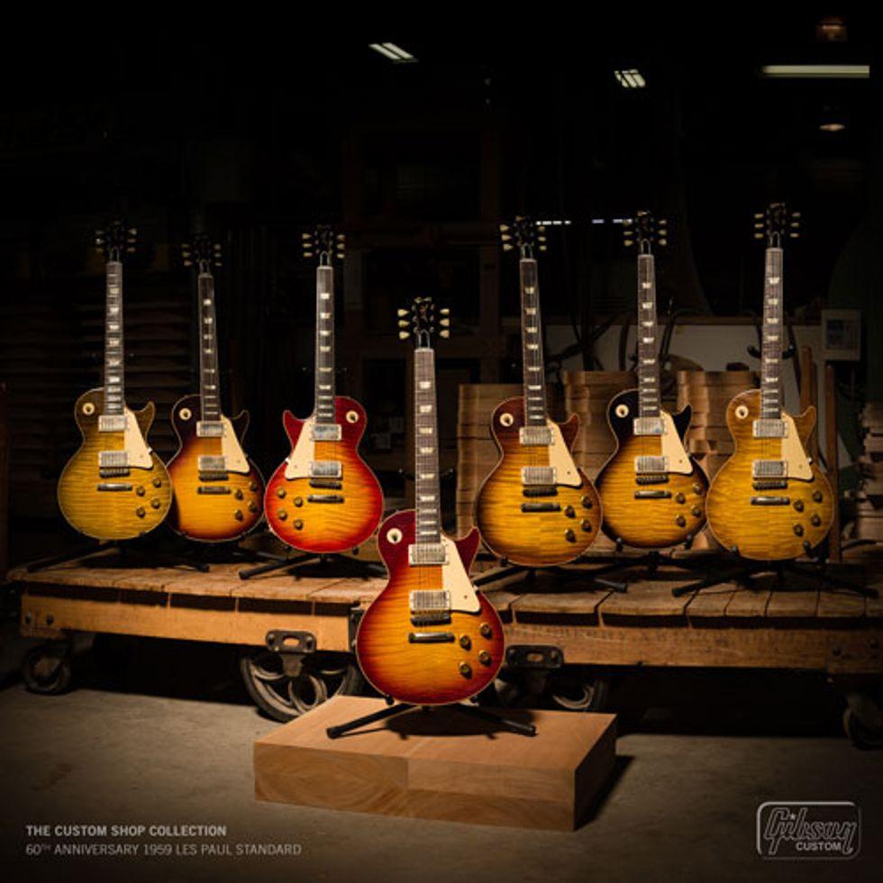 Gibson Announces the Original, Modern, and Custom Shop