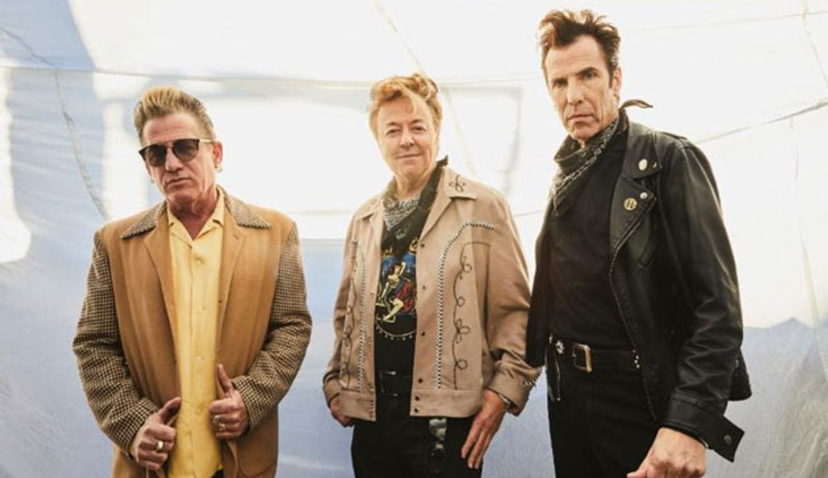 """The Stray Cats Releases """"Rock It Off"""""""