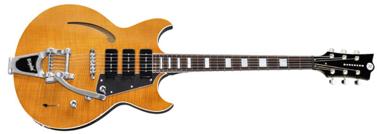Reverend Guitars Introduces Manta Ray 390 2011 Limited Edition