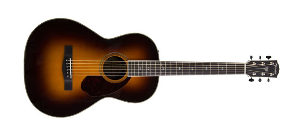 Quick Hit: Fender Paramount PM-2 Parlor Review