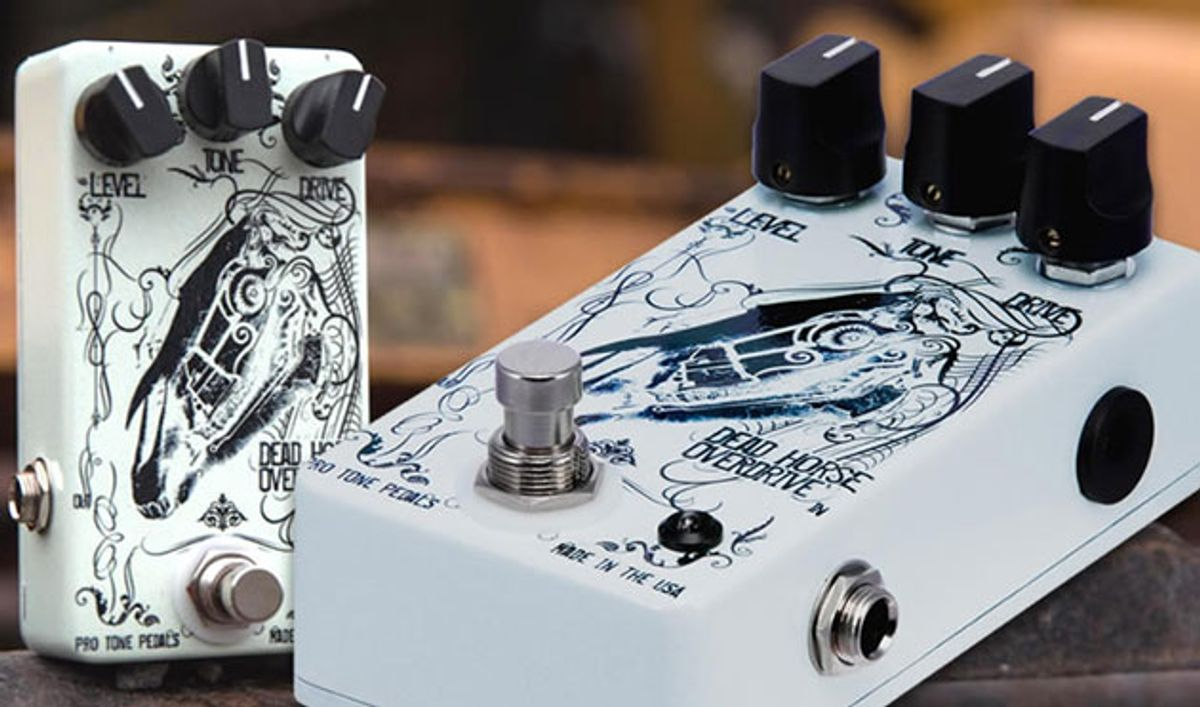 Pro Tone Pedals Introduces Essential Edition Dead Horse Overdrive