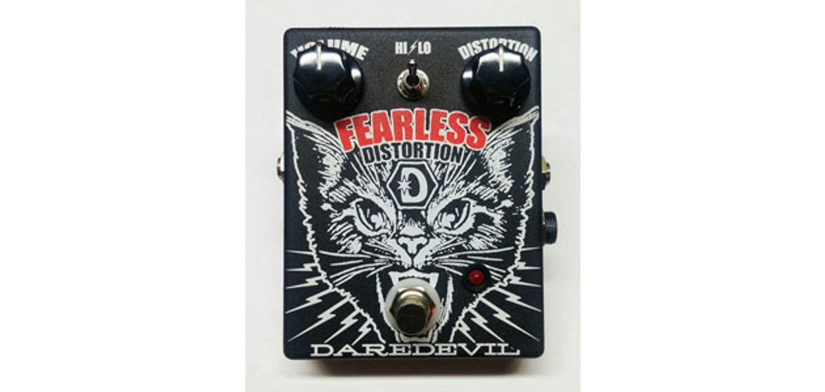 Daredevil Pedals Releases the Fearless Distortion