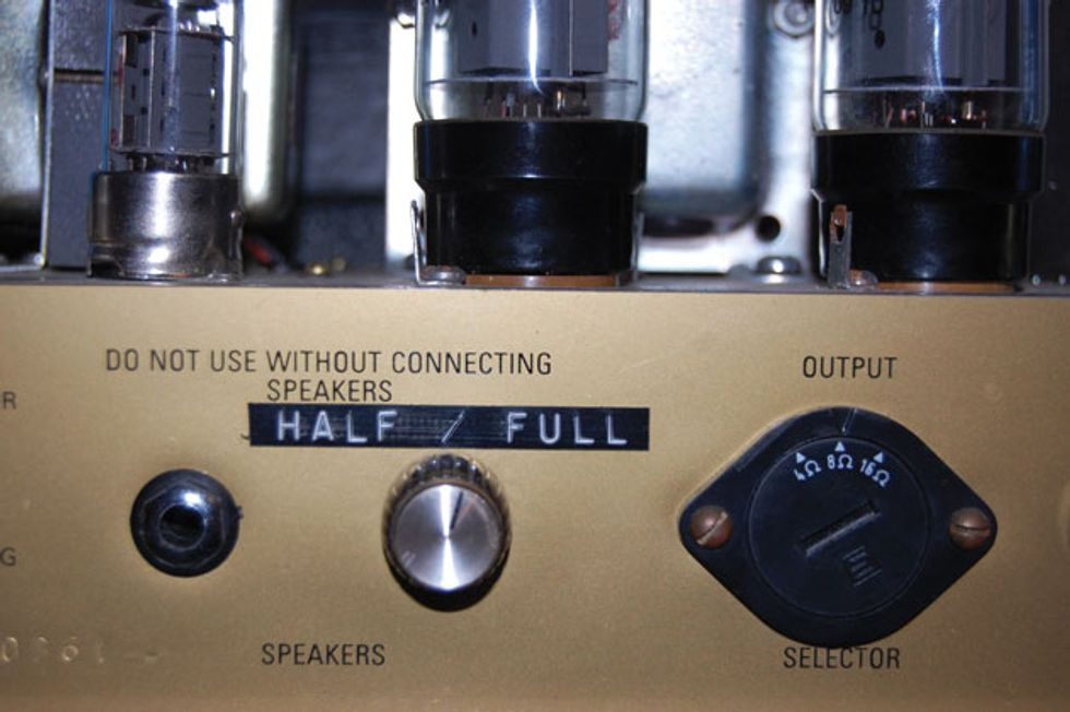 Ask Amp Man: Reduce Power with a Pentode/Triode Switch