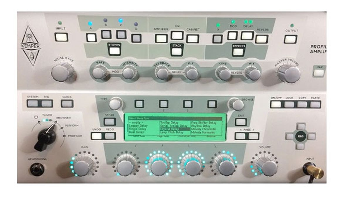 Kemper Adds New Delay Effects to the Profiler