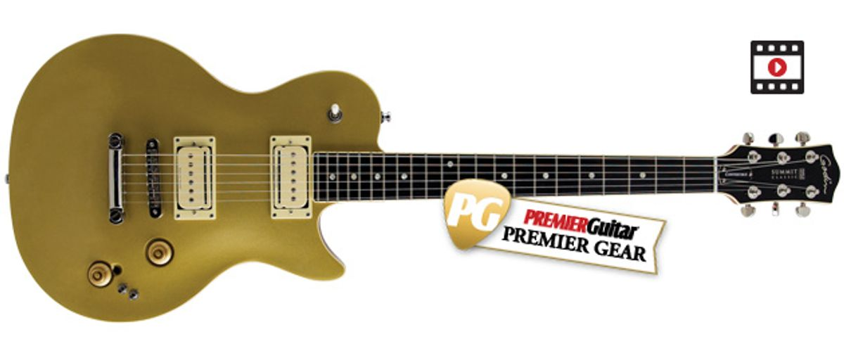 Godin Summit Classic CT Convertible Review