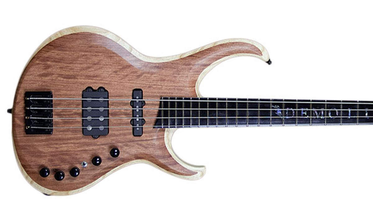 Overload Guitars & Basses Announces the Taurus 4-String Bass