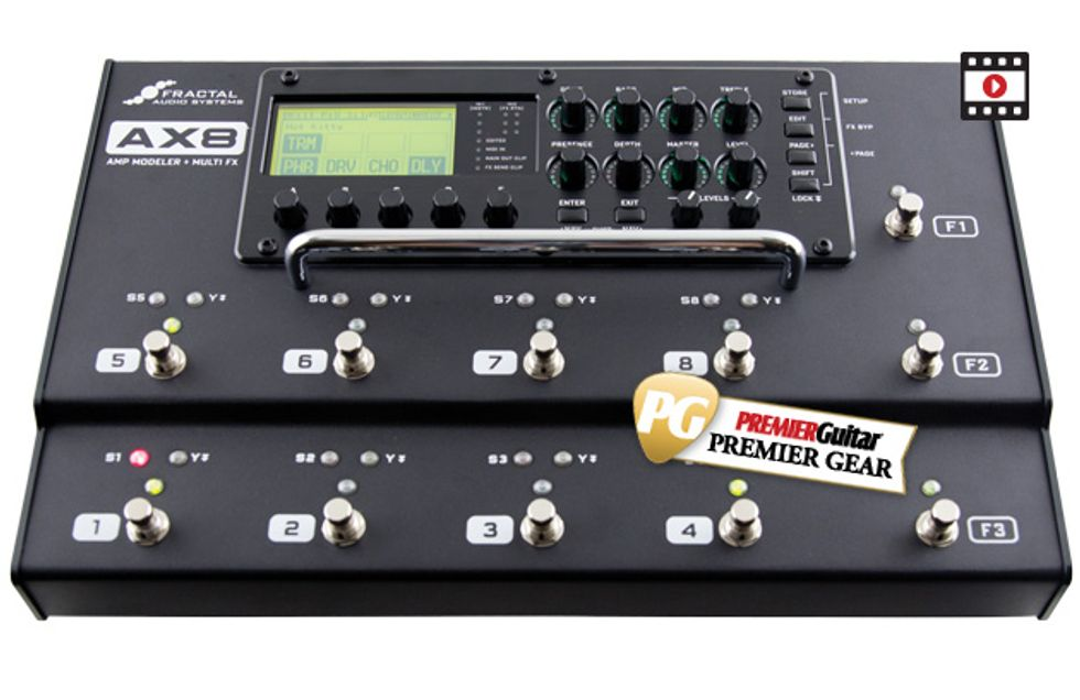 fractal audio systems ax8 review premier guitar