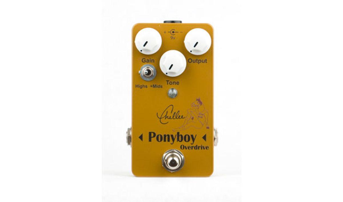 Chellee Guitars Unveils the Ponyboy Overdrive V2