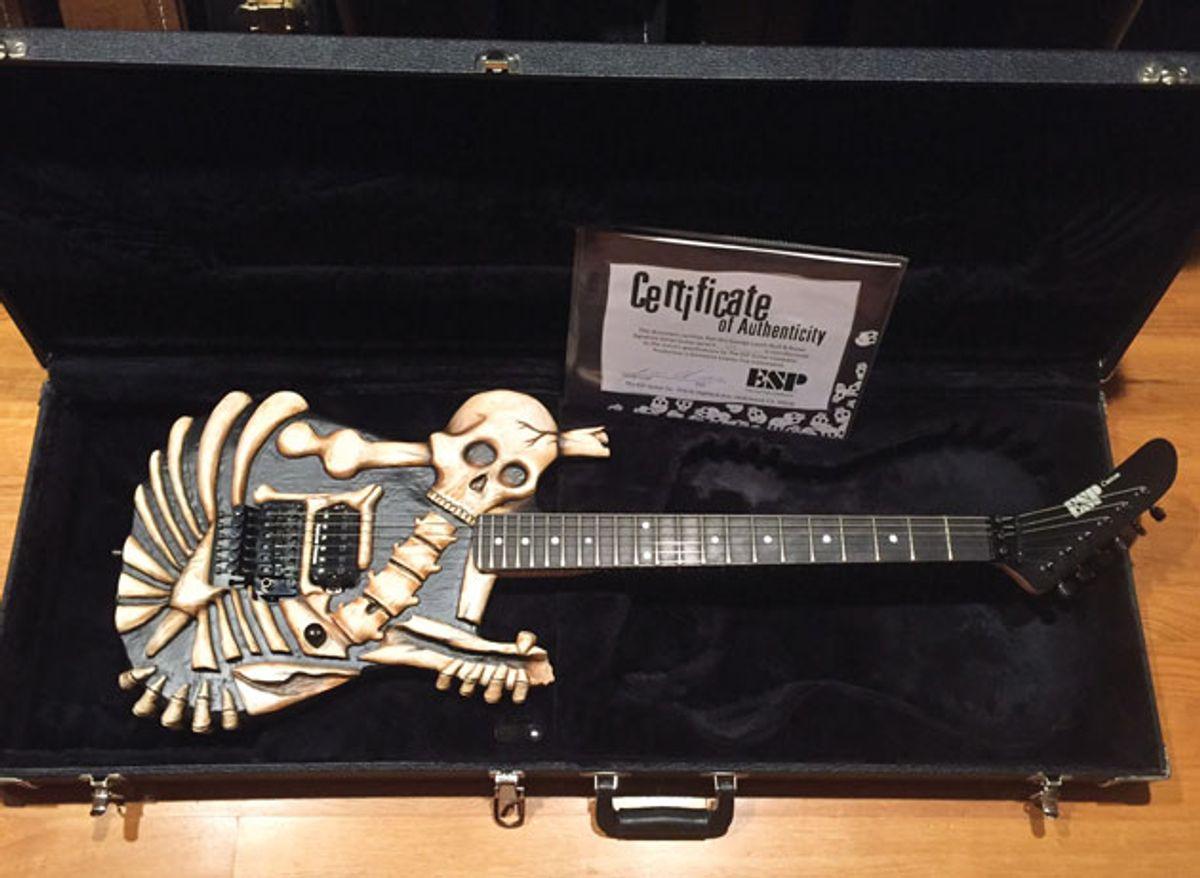 Reader Guitar of the Month: ESP George Lynch Skull N' Bones