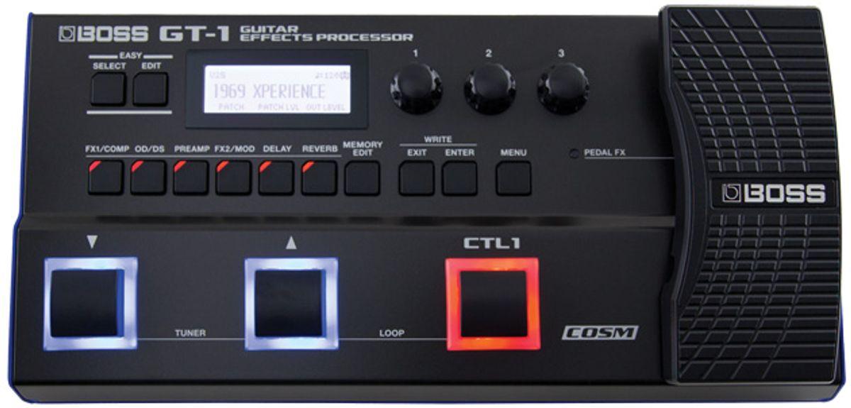 Boss GT-1 Guitar Effects Processor Review