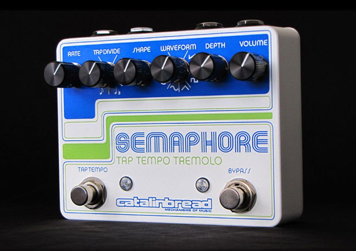 Catalinbread Releases Redesigned Semaphore Tap Tremolo
