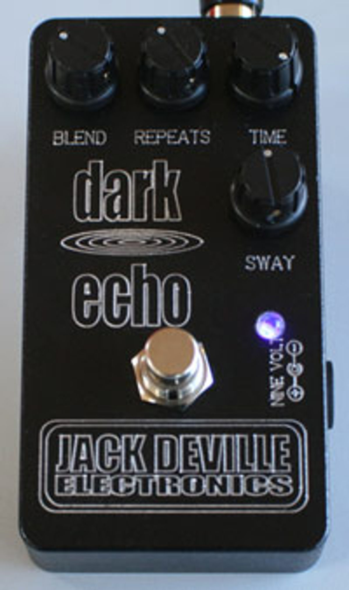 Jack Deville Electronics Announces Dark Echo Pedal